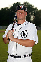 July 7th 2008:  Billy Nowlin of the Oneonta Tigers, Class-A affiliate of Detroit Tigers, during a game at Damaschke Field in Oneonta, NY.  Photo by:  Mike Janes/Four Seam Images