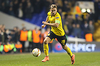 Marcel Schmelzer of Borussia Dortmund during the UEFA Europa League match between Tottenham Hotspur and Borussia Dortmund at White Hart Lane, London, England on 17 March 2016. Photo by David Horn / PRiME Media Images