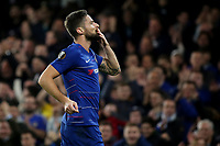 Olivier Giroud celebrates scoring Chelsea's opening goal during Chelsea vs PAOK Salonika, UEFA Europa League Football at Stamford Bridge on 29th November 2018