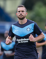 Paul Hayes of Wycombe Wanderers during warm up during the Sky Bet League 2 match between Wycombe Wanderers and York City at Adams Park, High Wycombe, England on 8 August 2015. Photo by Andy Rowland.