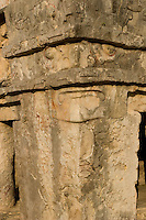 02.2012 Tulum (Mexico)<br /> <br /> Site archeologique de Tulum.<br /> <br /> Archeological site of Tulum.