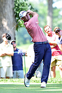 Bethesda, MD - July 1, 2018: Ryan Armour tee's off on the 8th hole during final round of professional play at the Quicken Loans National Tournament at TPC Potomac at Avenel Farm in Bethesda, MD.  (Photo by Phillip Peters/Media Images International)