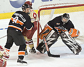 Grant Goeckner-Zoeller, Gabe Gauthier, Eric Leroux - The Princeton University Tigers defeated the University of Denver Pioneers 4-1 in their first game of the Denver Cup on Friday, December 30, 2005 at Magness Arena in Denver, CO.