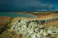 Storm clouds over Monreith Bay, The Machars, Dumfries and Galloway
