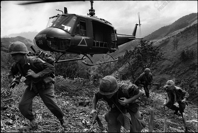Unit of the 1st Cavalry, I-corps, South Vietnam, December 1967