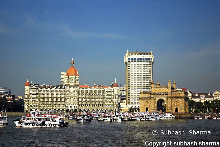 taj Mahal hotel in Happier times: archive photos
