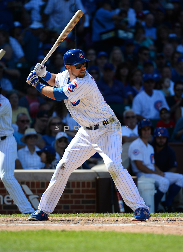 Chicago Cubs Ben Zobrist (18) during a game against the San Francisco Giants on September 3, 2016 at Wrigley Field in Chicago, IL. The Giants beat the Cubs 3-2.