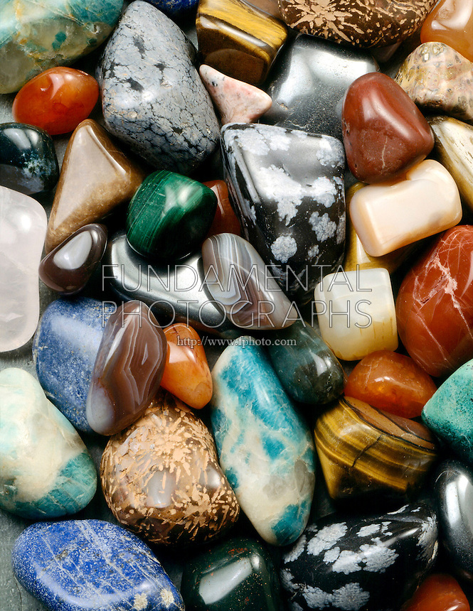 POLISHED ROCKS<br /> (Variations Available)<br /> Polished in a Rock Tumbler.