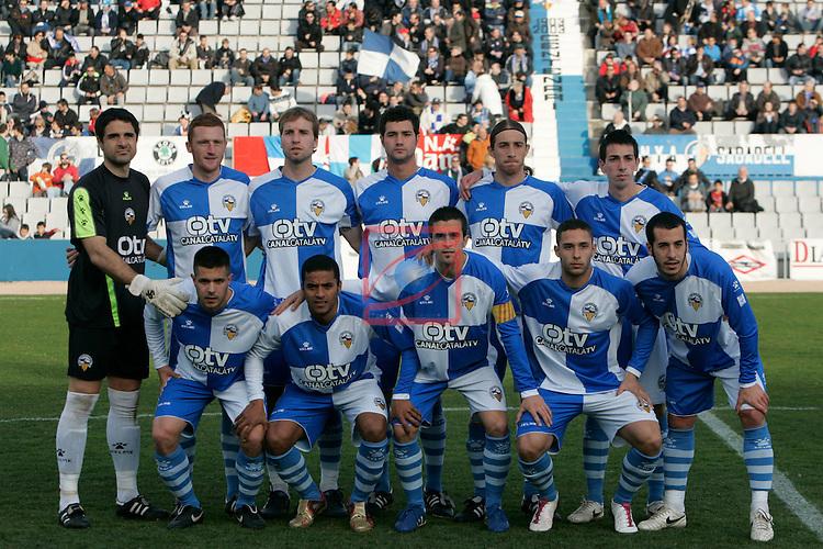 CE Sabadell vs Alicante: 1-1.