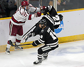 Sean Malone (Harvard - 17), Spencer Young (PC - 21), Jacob Bryson (PC - 18) - The Harvard University Crimson defeated the Providence College Friars 3-0 in their NCAA East regional semi-final on Friday, March 24, 2017, at Dunkin' Donuts Center in Providence, Rhode Island.