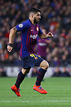 UEFA Champions League 2018/2019.<br /> Round of 16 2nd leg.<br /> FC Barcelona vs Olympique Lyonnais: 5-1.<br /> Luis Suarez.