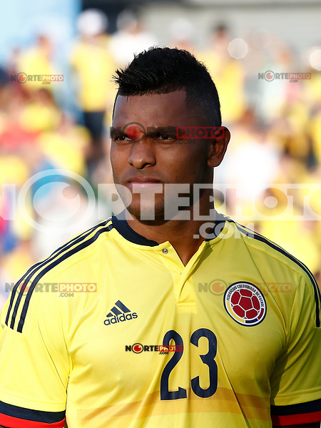 Colombia's Miguel Borja during international friendly match. June 13,2017.(ALTERPHOTOS/Acero) (NortePhoto.com) (NortePhoto.com)