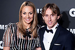 Luka Modric and wife Vanja Bosnic attends the 2018 GQ Men of the Year awards at the Palace Hotel in Madrid, Spain. November 22, 2018. (ALTERPHOTOS/Borja B.Hojas)