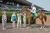 Lovely Stay winning at Delaware Park on 6/21/12