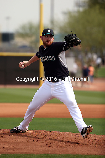 Zack Littell - Seattle Mariners 2016 spring training (Bill Mitchell)