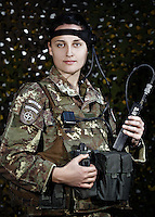 Women  Italians Army in Afghanistan