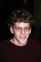 New York City<br /> 2002 <br /> JESSE EISENBERG<br /> Photo By John Barrett-PHOTOlink.net/MediaPunch