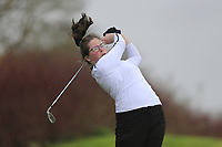 Kaelin O'Keeffe (Tralee) during the second round of the Irish Girls' Open Stroke Play Championship, Roganstown Golf Club, Swords, Ireland. 14/04/2018.<br /> Picture: Golffile | Fran Caffrey<br /> <br /> <br /> All photo usage must carry mandatory copyright credit (&copy; Golffile | Fran Caffrey)