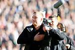 Nederland, Rotterdam, 28 oktober 2012.Eredivisie.Seizoen 2012-2013.Feyenoord-Ajax.John Guidetti slaat op zijn borst tijdens zijn afscheid bij Feyenoord