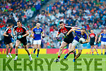 Darran O'Sullivan Kerry in action against Stephen Coen Mayo in the All Ireland Semi Final in Croke Park on Sunday.