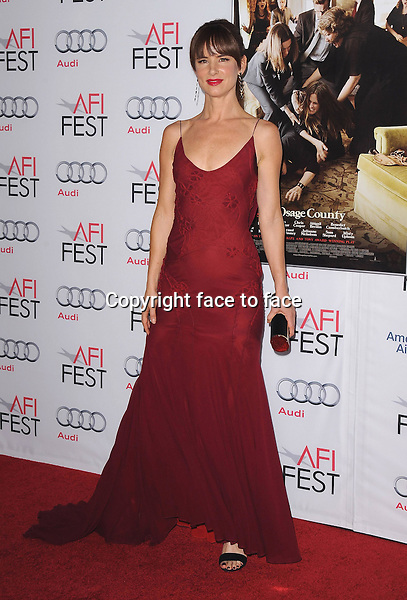 HOLLYWOOD, CA - NOVEMBER 8:  Juliette Lewis arrives at the 2013 AFI Fest - &quot;August: Osage County&quot; gala screening at TCL Chinese Theatre on November 8, 2013 in Hollywood, California. <br /> Credit: MediaPunch/face to face<br /> - Germany, Austria, Switzerland, Eastern Europe, Australia, UK, USA, Taiwan, Singapore, China, Malaysia, Thailand, Sweden, Estonia, Latvia and Lithuania rights only -