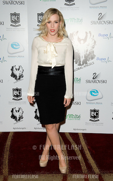 Natasha Bedingfield arriving for the Global Angels Awards at the Park Plaza Hotel in Westminster London. 02/12/2011 Picture by: Simon Burchell / Featureflash
