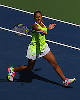 FLUSHING NY- SEPTEMBER 02: Madison Keys Vs Naomi Osaka on Arthur Ashe Stadium at the USTA Billie Jean King National Tennis Center on September 2, 2016 in Flushing Queens. Credit: mpi04/MediaPunch