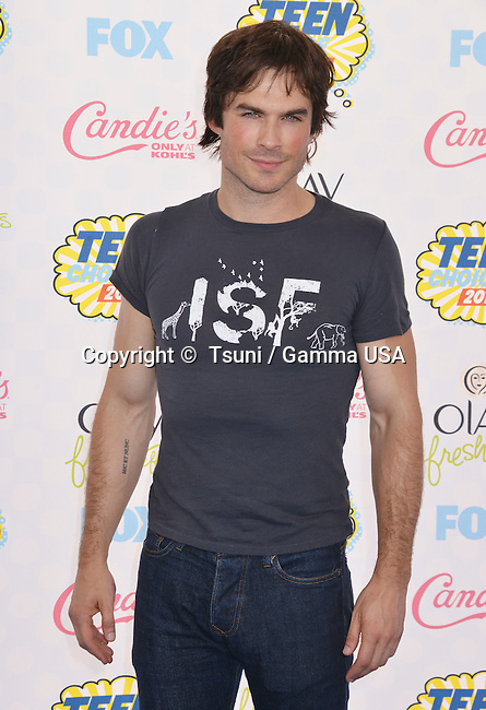 Ian Somerhalter  at the  Teen Choice Awards 2014  at the Shrine Auditorium in Los Angeles.