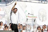 Roma, 30 Settembre 2018<br /> Mauriio Martina.<br /> Piazza del Popolo<br /> Manifestazione nazionale del Partito Democratico contro il Governo