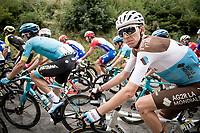 Romain Bardet (FRA/AG2R-La Mondiale)<br /> <br /> Stage 1: Clermont-Ferrand to Saint-Christo-en-Jarez (218km)<br /> 72st Critérium du Dauphiné 2020 (2.UWT)<br /> <br /> ©kramon