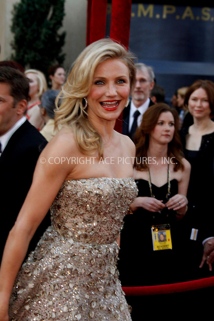 WWW.ACEPIXS.COM . . . . .  ....March 7 2010, Hollywood, CA....Actress Cameron Diaz at the 82nd Annual Academy Awards held at Kodak Theatre on March 7, 2010 in Hollywood, California.....Please byline: Z10-ACE PICTURES... . . . .  ....Ace Pictures, Inc:  ..Tel: (212) 243-8787..e-mail: info@acepixs.com..web: http://www.acepixs.com