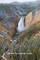 67545-09809 Lower Falls, Yellowstone National Park, WY
