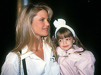 #ChristieBrinkley and daughter 1989<br /> Photo By Adam Scull/PHOTOlink.net