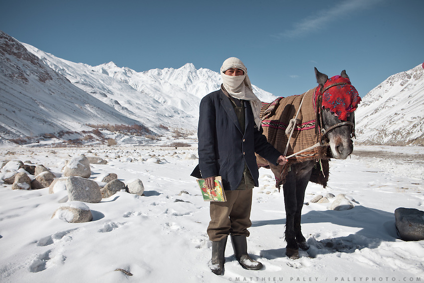 Going to school, in Kret village, Wakhan Corridor, Afghanistan.
