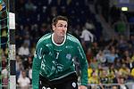 der Gummersbacher Carsten Lichtlein (Nr.1) beim Spiel in der Handball Bundesliga, Rhein Neckar Loewen - VfL Gummersbach.<br /> <br /> Foto &copy; PIX-Sportfotos *** Foto ist honorarpflichtig! *** Auf Anfrage in hoeherer Qualitaet/Aufloesung. Belegexemplar erbeten. Veroeffentlichung ausschliesslich fuer journalistisch-publizistische Zwecke. For editorial use only.