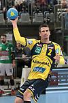 Rhein Neckar Loewe Andy Schmid (Nr.2)  beim Spiel in der Handball Bundesliga, Rhein Neckar Loewen - FRISCH AUF! Goeppingen.<br /> <br /> Foto &copy; PIX-Sportfotos *** Foto ist honorarpflichtig! *** Auf Anfrage in hoeherer Qualitaet/Aufloesung. Belegexemplar erbeten. Veroeffentlichung ausschliesslich fuer journalistisch-publizistische Zwecke. For editorial use only.