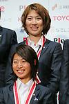 Ayu Nakada (Leonessa), November 13, 2012 - Football / Soccer : Plenus Nadeshiko LEAGUE 2012 Award ceremony in Tokyo, Japan. (Photo by Yusuke Nakanishi/AFLO SPORT).