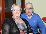 Mickey and Marie Flanagan from Dunleer pictured at the Ceilí and set dancing weekend at An Grianán. Photo:Colin Bell/pressphotos.ie