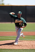 Kyle Friedrichs - Oakland Athletics 2016 spring training (Bill Mitchell)