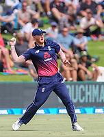 England's Ben Stokes.  Black Caps v England, second international cricket ODI, Bay Oval, Tauranga, New Zealand. Wednesday, 28 February, 2018. Copyright photo: John Cowpland / www.photosport.nz