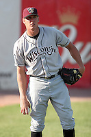 August 16 2008:  Pitcher Jeff Dunbar of the Wisconsin Timber Rattlers, Class-A affiliate of the Seattle Mariners, during a game at Philip B. Elfstrom Stadium in Geneva, IL.  Photo by:  Mike Janes/Four Seam Images