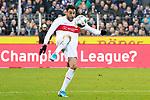 09.11.2019, Stadion an der Bremer Brücke, Osnabrück, GER, 2. FBL, VfL Osnabrueck vs. VfB Stuttgart<br /> <br /> ,DFL REGULATIONS PROHIBIT ANY USE OF PHOTOGRAPHS AS IMAGE SEQUENCES AND/OR QUASI-VIDEO, <br />   <br /> im Bild<br /> Hamadi Al Ghaddioui (VfB Stuttgart #18), Aktion / Einzelbild / Freisteller / mit Ball.<br /> <br /> <br /> Foto © nordphoto / Paetzel