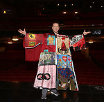 """Marty Lawson during the Broadway Opening Night Actors' Equity Legacy Robe honoring Marty Lawson for """"King Kong - Alive On Broadway"""" at the Broadway Theater on November 8, 2018 in New York City."""