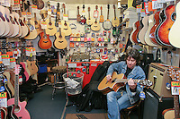 Chris Bryant Guitar shop