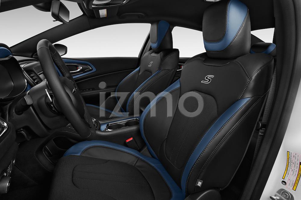 Front seat view of a 2015 Chrysler 200 S 4 Door Sedan 2WD Front Seat car photos