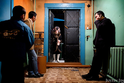 A school performance at the Bedime village in Yakutia..Village authorities is pushing villagers to join the United Russia party, which backs Russian President Vladimir Putin. .On one single day this year, 136 people in his village joined the party. .United Russia is a political party in the Russian Federation which usually labels itself centrist. It can be seen as Putin's vehicle in the State Duma (the lower house of Russian parliament). It was founded in April 2001 as a merger between Yuriy Luzhkov's, Yevgeny Primakov's and Mintimer Shaeymiev's Fatherland - All Russia party, and the Unity Party of Russia, led by Sergei Shoigu and Alexander Karelin..United Russia is a relatively new party in the Russian Parliament but has been making great gains in recent federal and local elections due to the popularity of Putin.