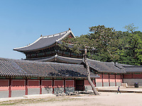 K&ouml;nig-Residenz im Changdeokgung Palast, Seoul, S&uuml;dkorea, Asien, UNESCO-Weltkulturerbe<br /> kings residence in palace Changdeokgung,  Seoul, South Korea, Asia UNESCO world-heritage