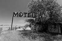 Abandoned Motel in Texhoma, OK