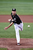 Erie SeaWolves pitcher Kyle Ryan (23) delivers a pitch during a game against the Akron RubberDucks on May 17, 2014 at Jerry Uht Park in Erie, Pennsylvania.  Erie defeated Akron 2-1.  (Mike Janes/Four Seam Images)