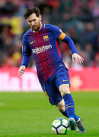FC Barcelona's Leo Messi during La Liga match. March 4,2018. (ALTERPHOTOS/Acero) /NortePhoto.com NORTEPHOTOMEXICO